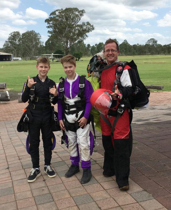 Kids Skydiving Australia