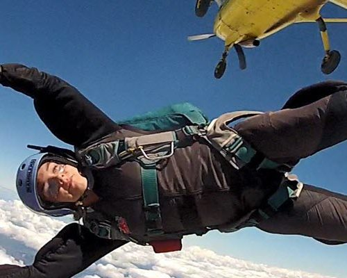 is skydiving like a roller coaster