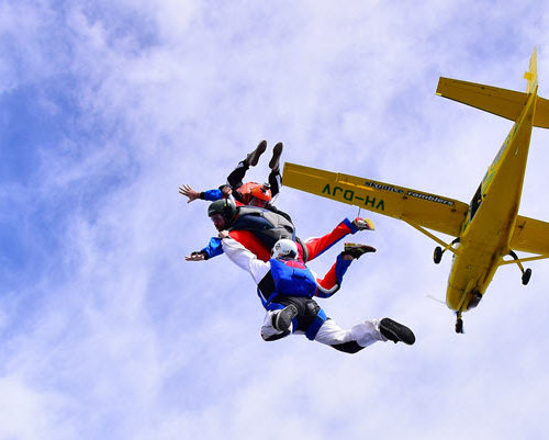 Skydiving When Sick
