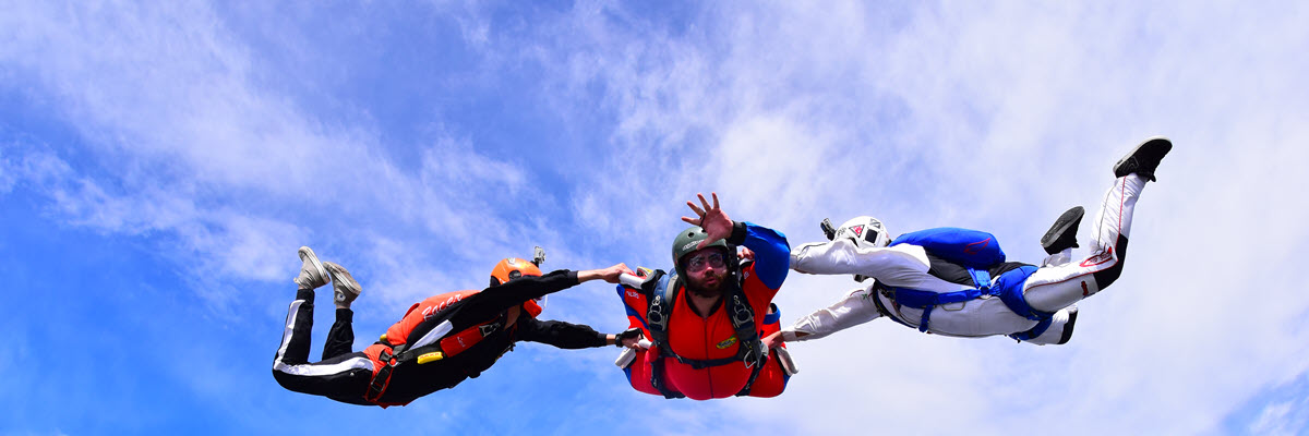 Selecting the Right Skydive Training Program For You