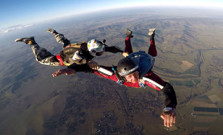 Newly licensed skydiver: be a little easier on yourself