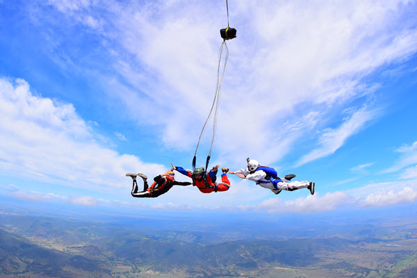 Skydiving To Rocket You Through a Life Change