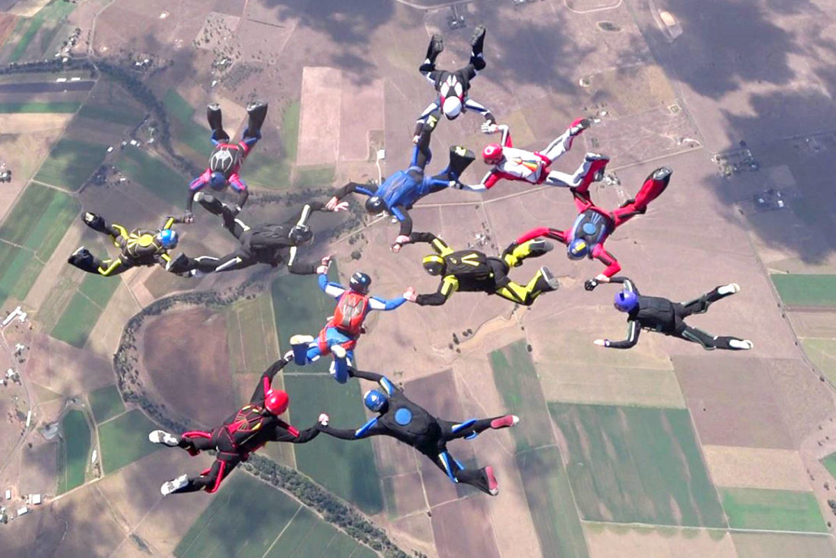 skydiving formations