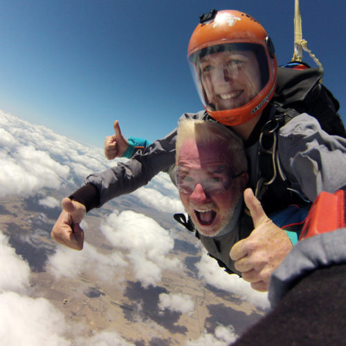 Skydiving with your family at Skydive Ramblers, Australia's best skydiving center