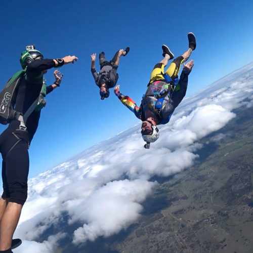How To Prepare for a World Record Skydive - Skydive Ramblers