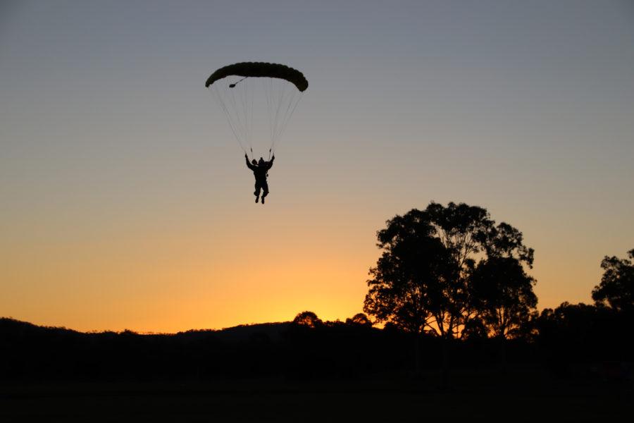 Night Skydiving Australia