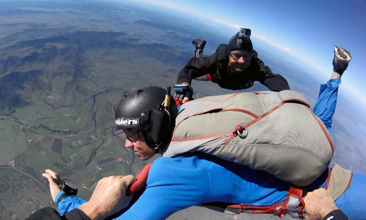 Skydiving Coach Guidance