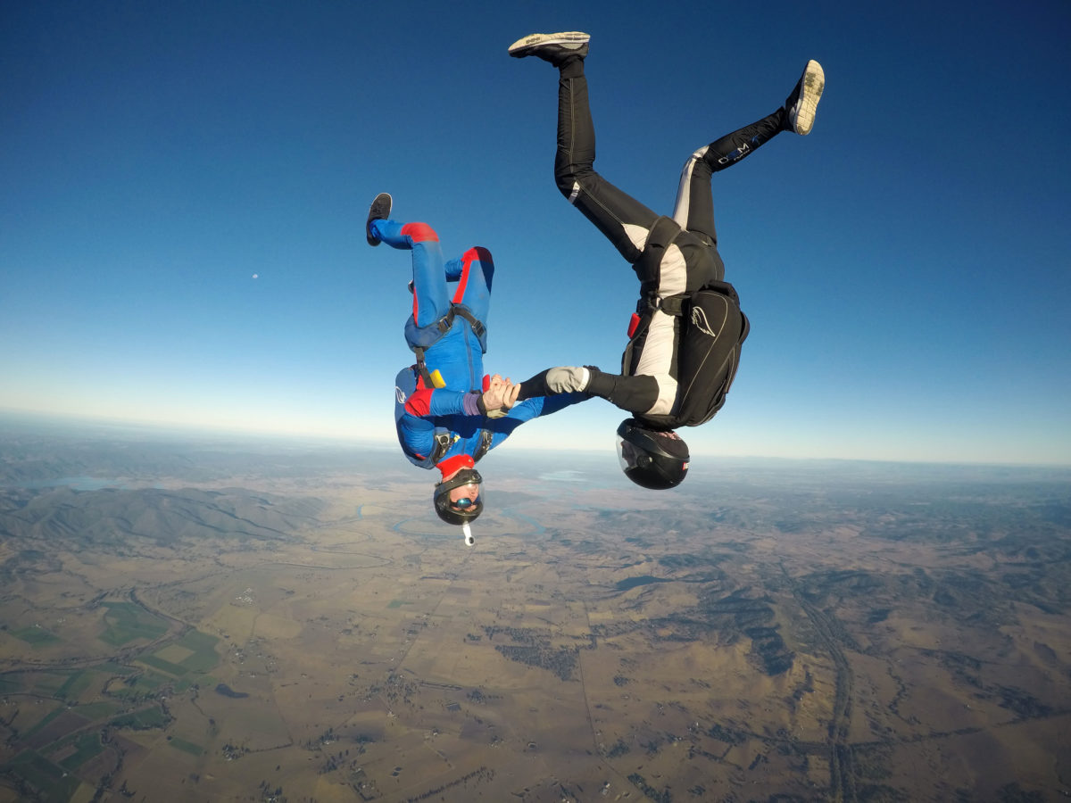 Categories of Skydiving World Records