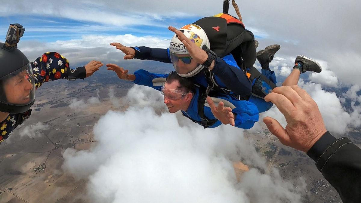 skydiving video package