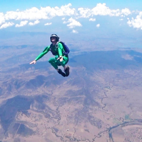 Solo Skydiving: The Great Adventure