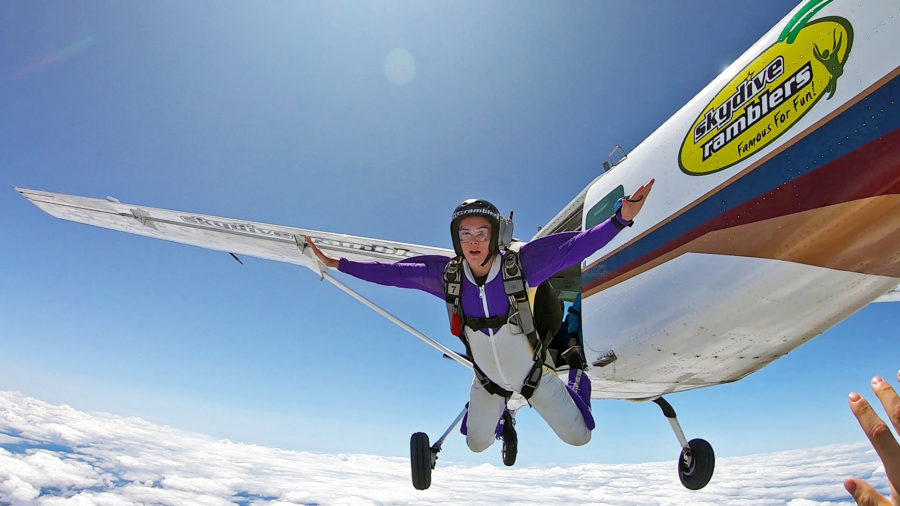 Solo Skydiving